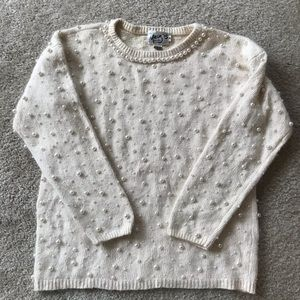 Vintage Pearl Sweater